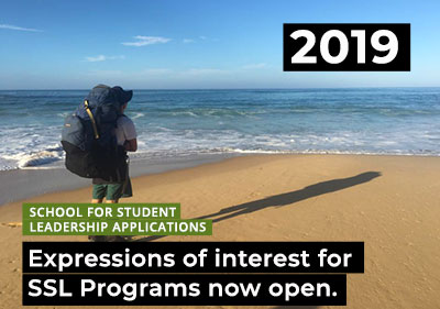 Application & Expression of Interest Form for 2019 SSL Programs