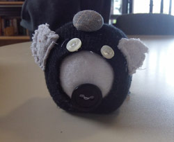 Sock Pig - Panda by Mitch
