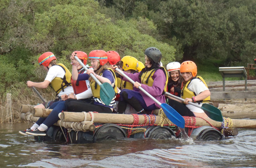 Images of Raft Building