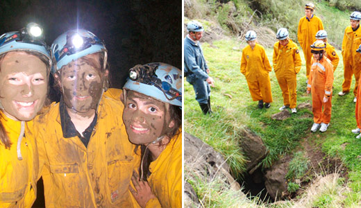 Caving Adventures in Term 3