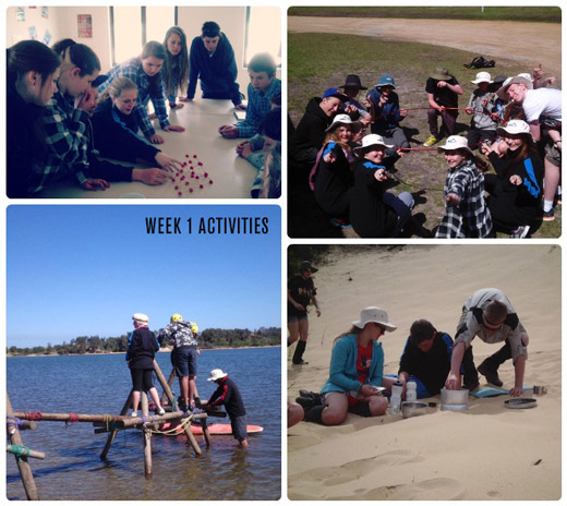 Snapshot of Week 1 Activities