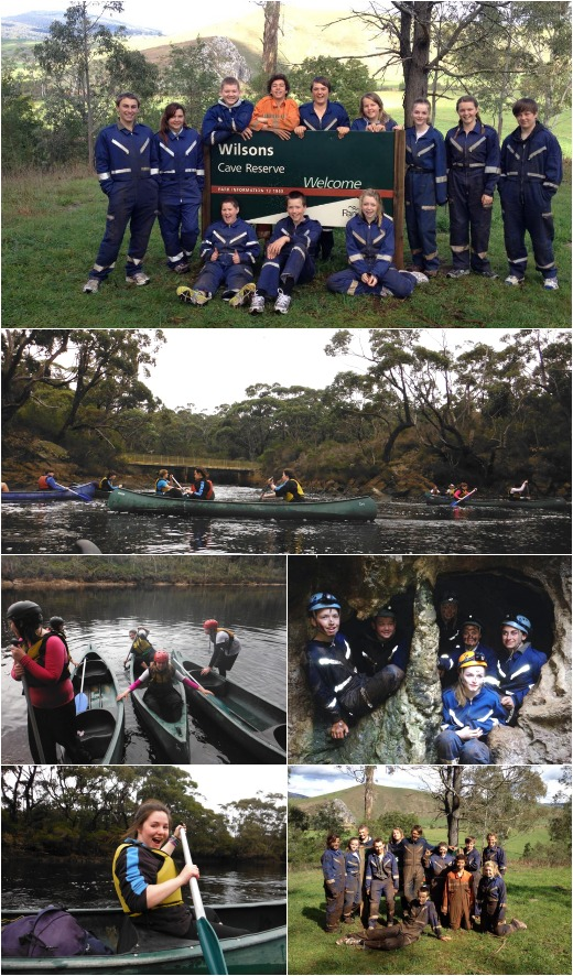 Caving and Canoes