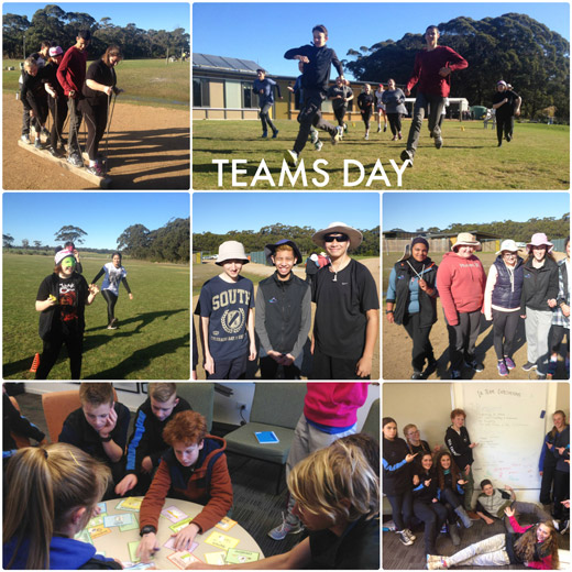 Teams Day with Term 3 Students at Snowy River Campus