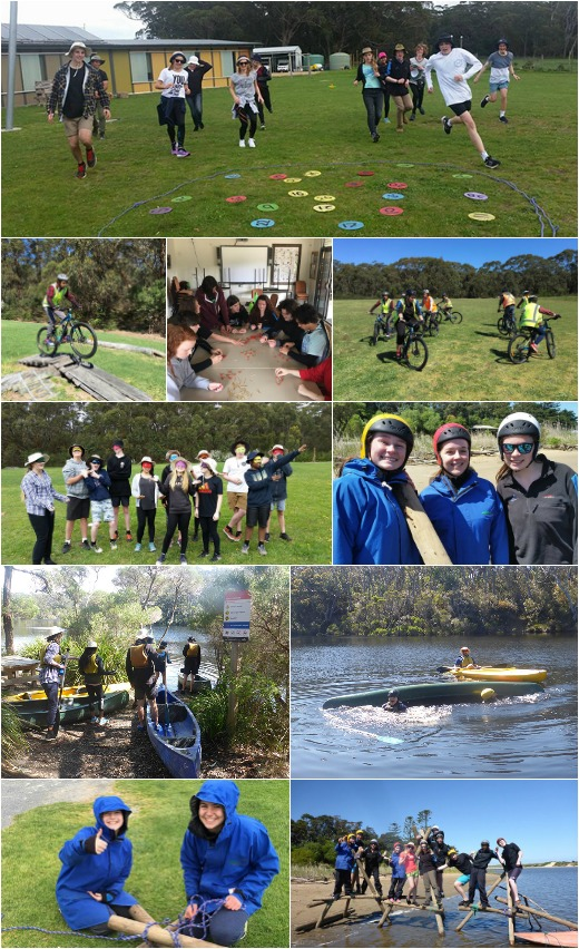 Photogallery 1 - Team Activities, Bridge Building and Canoeing