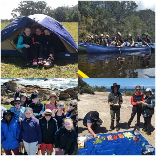 Term 4 Students - embracing the many new experiences to be had at the Snowy River Campus