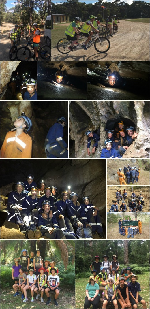Caving and Bike Riding, Photogallery 7, Term 1 2017