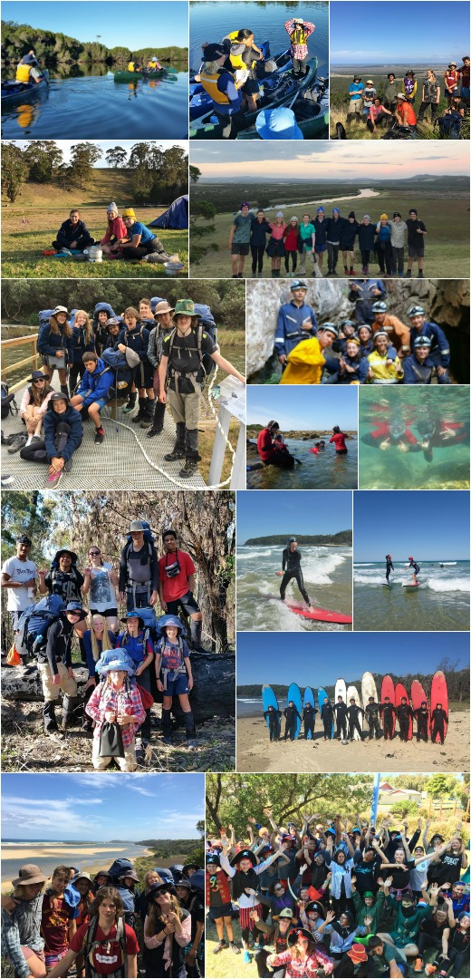 Term 1 2018 - Expo 2, Surfing, Snorkeling and Caving