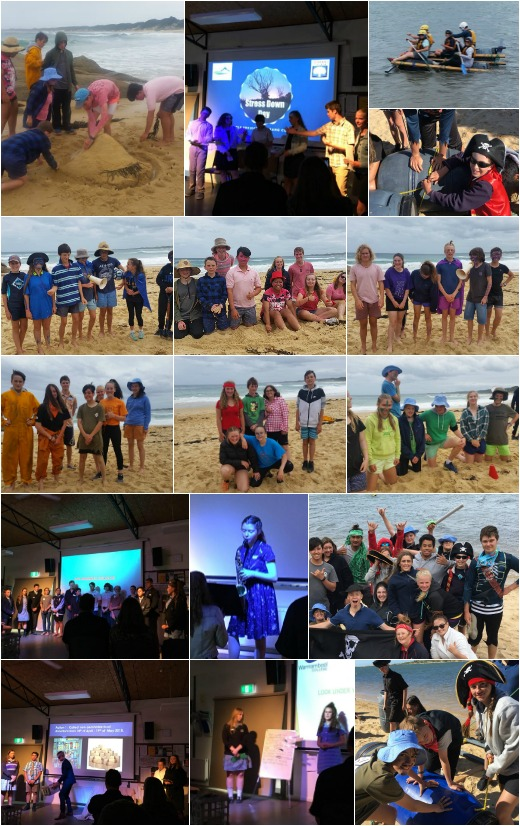 Term 1 2018 - Rafting, Beach Olympics and CLP Presentations