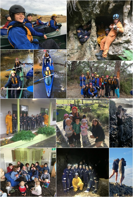 Term 2 2018 - Canoeing, Photography Lesson and Community Service