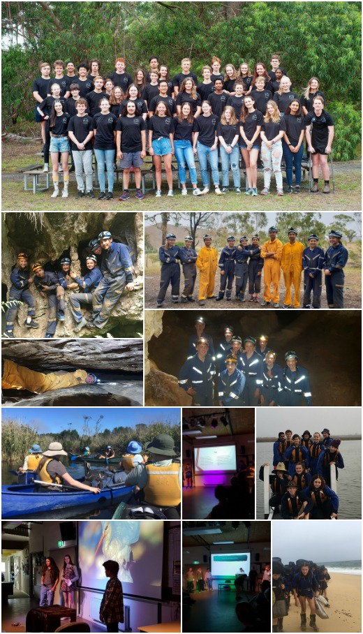 Term 1 2019 - Expo 2, Caving, and CLP Day